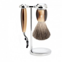 Mühle Pędzel do golenia & Gillette® Mach3® Set Serie Vivo