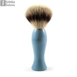 EJ, Pędzel do golenia dla kobiet, syntetyczny, niebieski