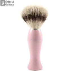 EJ, Pędzel do golenia dla kobiet, syntetyczny, róż