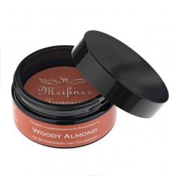 MT, Woody Almond Mydło do golenia, szklany pojemnik 95g