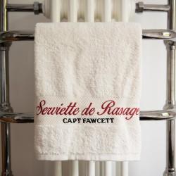 CF, Wysokiej jakości ręcznik do golenia 50 x 100 cm, Materiał: 500g / 100% bawełna