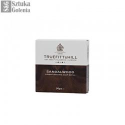 T&H Sandalwood - mydło do golenia 99g - uzupełnienie do tygielka