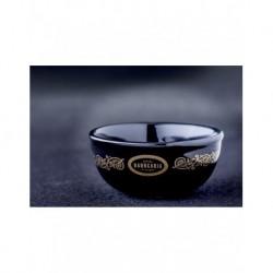 Antiga Barberia Porcelanowa czarna miseczka do golenia