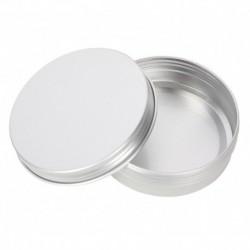Podróżny metalowy zakręcany pojemnik na mydło, sprzedawany bez mydła