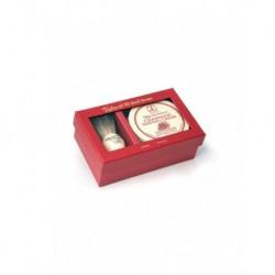 TOBS Zestaw prezentowy pędzel Pure Badger oraz krem z drewna cedrowego