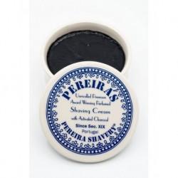 Pereira Shavery mydło do golenia 120g z aktywnym węglem w stylowym ceramicznym tygielku