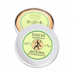 RM, imbir, bergamotka, orientalne mydło do golenia Razor Master Daichi 80g, metalowy tygielek