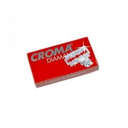 Żyletki  Croma Diamant Czerwone 5szt