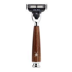 MÜHLE, maszynka do golenia Gillette® Mach3®  R 220 M3 Rytmo, jesion