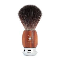 MÜHLE, pędzel do golenia włosie Black Fibre, drewno śliwy  21 H 331 VIVO