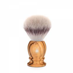 MÜHLE, pędzel do golenia syntetyczne włosie  39 H 250 drewno oliwne