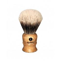 Epsilon Two Band Badger Shaving Brush Wooden 26/55mm
