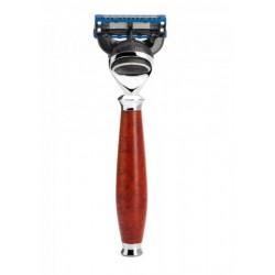 Mühle Gillette Fusión® Purist Briar Wood maszynka do golenia drewno wrzoścowe