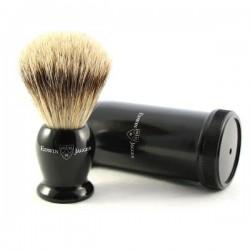 EJ, IETSBbb Pędzel do golenia Premium z tubą podróżną, best badger, czarny