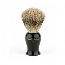 EJ, Pędzel do golenia IEPSBbb Plaza best badger, czarny uchwyt