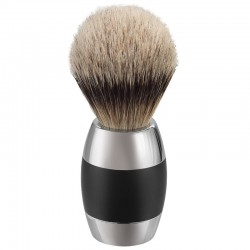 Merkur Solingen 90120011, Pędzel do golenia, silvertip