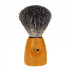 Pędzel do golenia, 81 P 12 0, HJM, 100% borsuk, pomarańczowa rączka