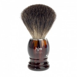 Mühle/HJM 181P23 Pędzel do golenia Pure Badger skorupa żółwia