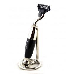Chromowany stojak VIE-LONG na maszynkę do golenia