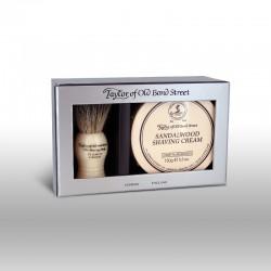 Zestaw prezentowy - pędzel 100% borsuk i krem do golenia 150g
