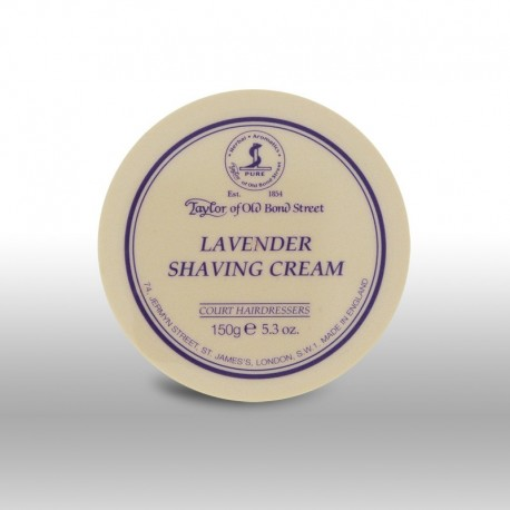 Krem do golenia 150g  w tyglu - Lavender