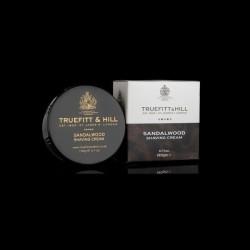 T&H Drzewo sandałowe - Krem do golenia w tyglu 190g