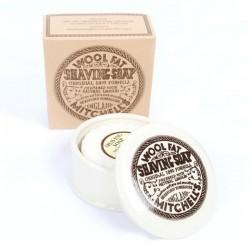 Mitchell´s Wool Fat Ceramiczne naczynie z mydłem do golenia 125gr