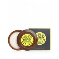 C&E Mydło do golenia West indian Limes 100g, drewniany tygielek