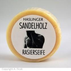 Haslinger, SPA Łagodne antyseptyczne sandałowe mydło do golenia 60g