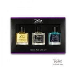Pudełko zapachów -  3 x 10ml  Sandalwood, Jermyn Street & St James