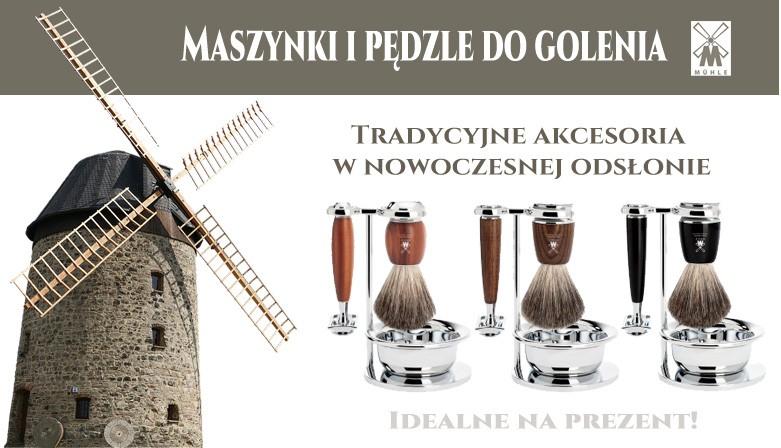 Tradycyjne akcesoria do golenia w nowoczesnej formie